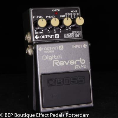 Boss RV-2 Digital Reverb 1987 s/n 845138 Japan