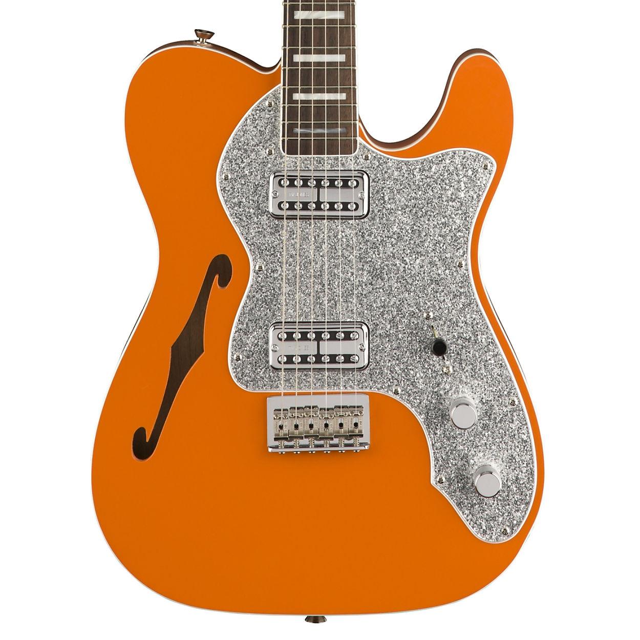 fender parallel universe telecaster thinline super deluxe orange pre order. Black Bedroom Furniture Sets. Home Design Ideas