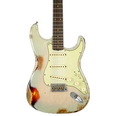 Fender Custom Shop Ltd '62 Stratocaster Heavy Relic Guitar - Vintage Blonde over 3-Color Sunburst for sale