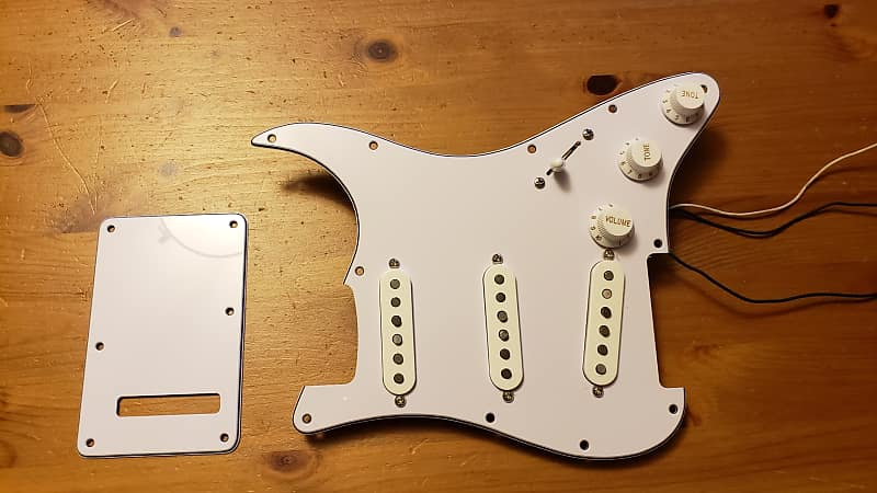 Astonishing Fender Tex Mex Loaded Prewired Stratocaster Pickguard White Reverb Wiring Cloud Hisonuggs Outletorg