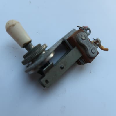 Fender Jazzmaster  1959 3 way toggle switch and tip  pickup vintage USA Swtichcraft