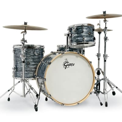 Gretsch Renown 4 Piece Drum Set (24/13/16/14sn) in Silver Oyster Pearl RN2-R644-SOP