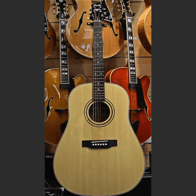Peerless PDJ-60E Acoustic Guitar #3165 Blonde for sale
