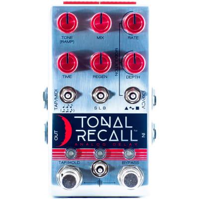 Chase Bliss Audio Tonal Recall Analog Delay Pedal RKM Red Knob Mod