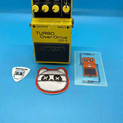 Boss OD-2 Turbo OverDrive (Black Label) | Fast Shipping!