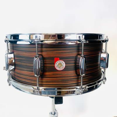 "Barton Beech ""Model 84"" 14X6 Snare Drum - Rosewood"