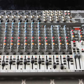 Behringer Xenyx X2222USB 22-Input Mixer with USB Interface