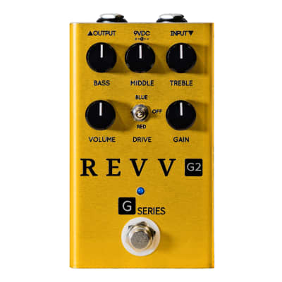 Revv G2 Dynamic Overdrive - Gold Limited Edition for sale
