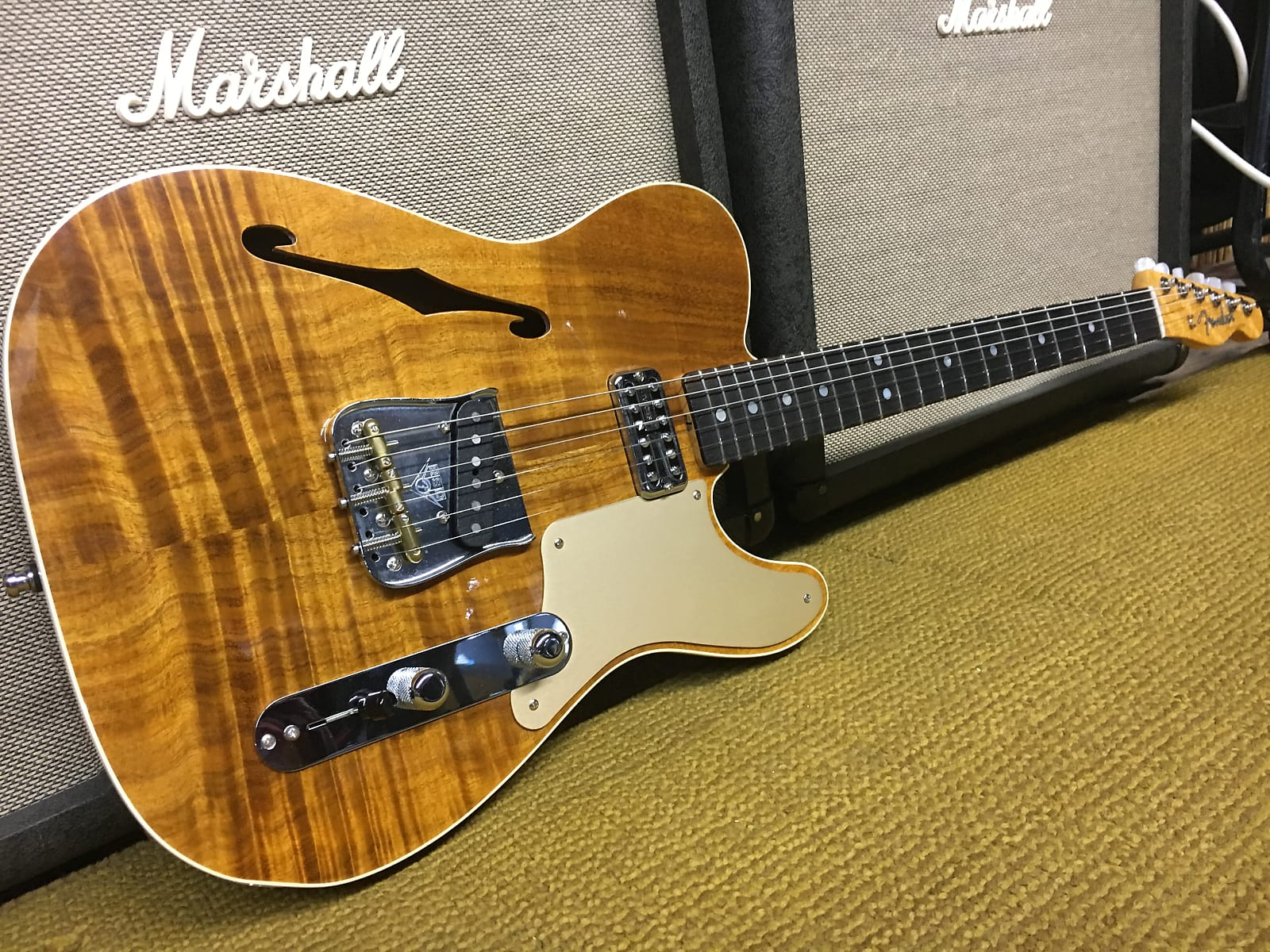 Fender Custom Shop Artisan Telecaster  2017 Natural