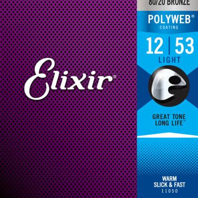 Elixir 11050 Acoustic 80/20 Bronze Polyweb