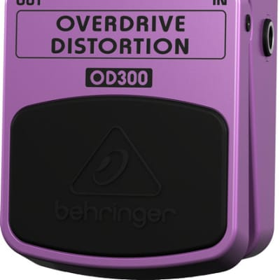 Behringer 2-Mode Overdrive/Distortion Pedal for sale