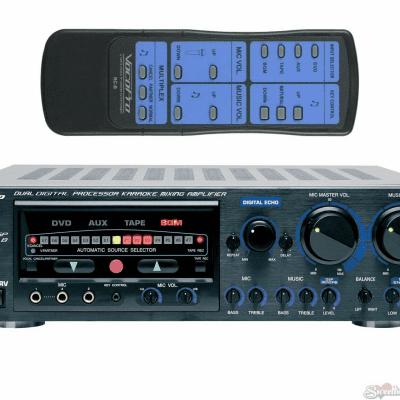 VocoPro DA9800RV 600W Pro Digital Key Control Mixing Amplifier w/DSP Reverb - Refurbished