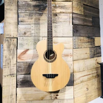 Luna Acoustic/Electric Bass 4-string for sale