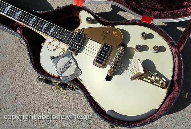 1956 Gretsch White Penguin Guitar ORIGINAL And RARE Mister Clean