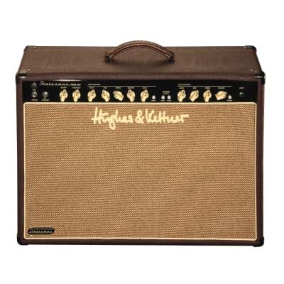 """Hughes & Kettner Statesman DUAL 6L6 2-Channel 60-Watt 2x12"""" Guitar Combo"""