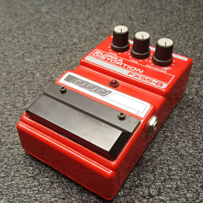 DOD FX-55B Supra Distortion 1990's USA Red for sale