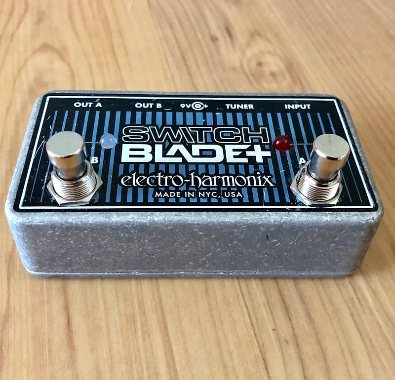 electro harmonix switchblade plus pedal used free shipping reverb. Black Bedroom Furniture Sets. Home Design Ideas