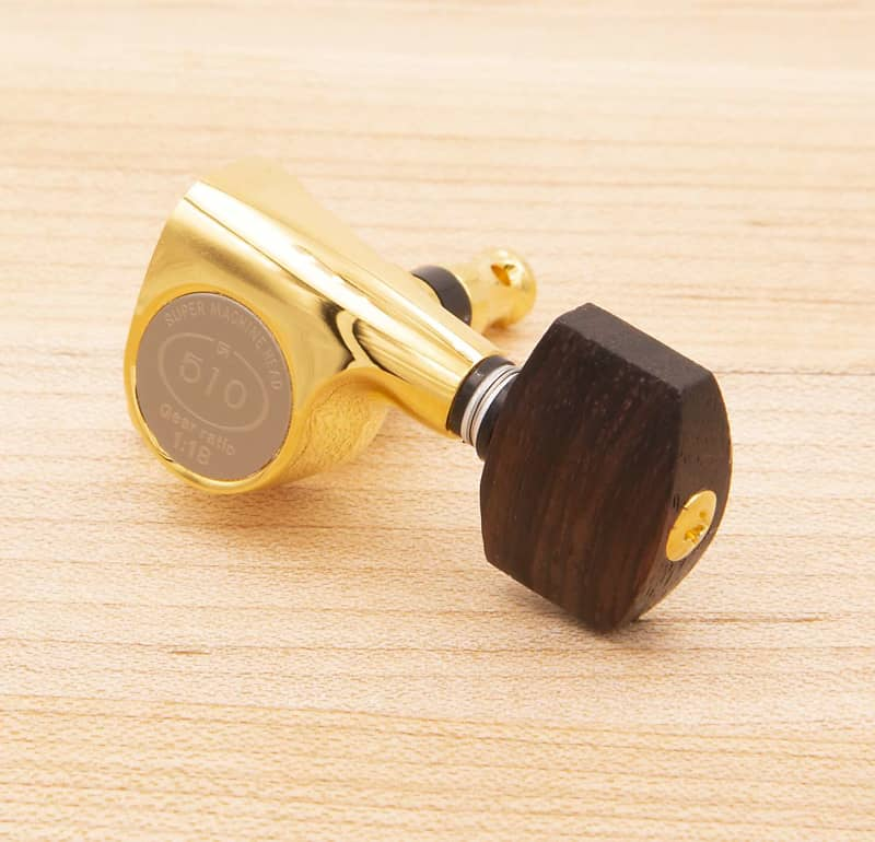 fits Gotoh tuners 6 Tone Ninja Genuine Rosewood Tuner Buttons