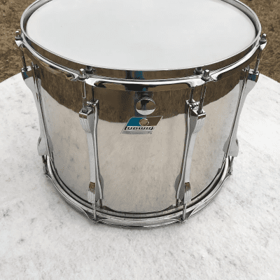 """Ludwig 12x15"""" Stainless Steel Marching Tenor Tom"""