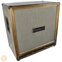 Emperor 4x12 Bass Cabinet Closed Back 2012 Dark Walnut with Silver Grille image