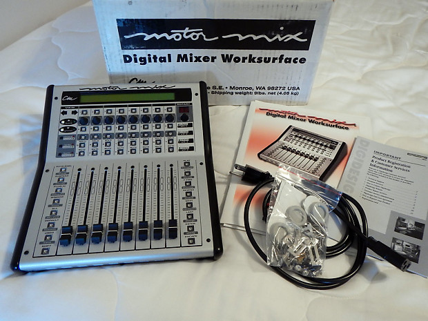 Musical Instruments & Gear Cm Labs Automation Motor Mix Daw Control Surface Motormix Mixer
