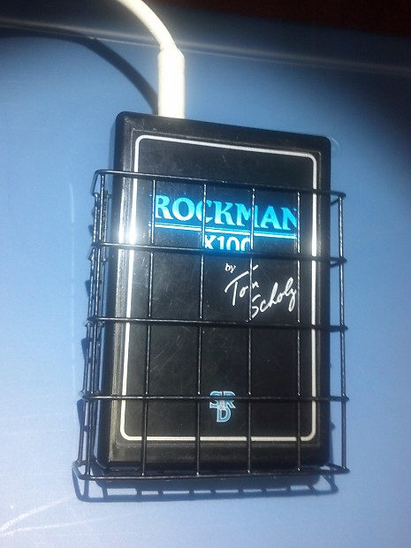 rockman x100 tom scholz new rockcage reduced to sell reverb. Black Bedroom Furniture Sets. Home Design Ideas
