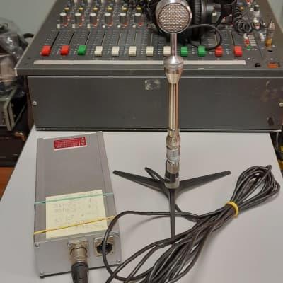 RFT Gefell MV 202 Vintage German Tube Microphone