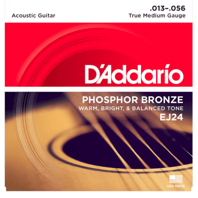D'Addario Phosphor Bronze Strings - Medium