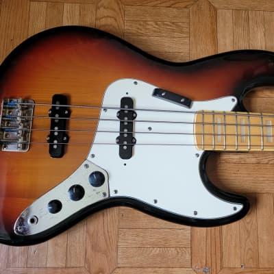 80's 1982 Fresher Personal Jazz Bass JB 75 Japan Sunburst for sale