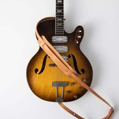 KMM & CO. Russet Vintage Style Guitar Strap