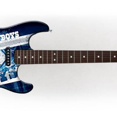 Woodrow Dallas Cowboys Northender Rosewood Fingerboard Electric Guitar - NENFL09 - 771831012097