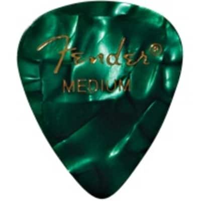 Fender Green Moto Medium Picks, 12-pack for sale