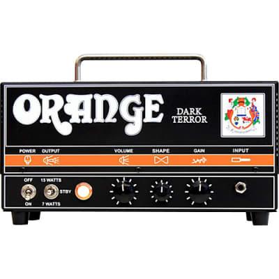 Orange DA15H Dark Terror 15 15W Tube Guitar Amp Head