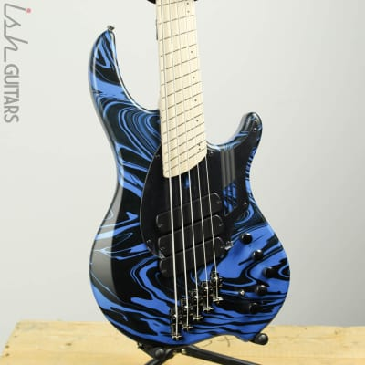 PRE-ORDER Dingwall NG3 Laguna Seca Blue Swirl (Discontinued Color!) 4, 5, or 6 String - 5 String for sale