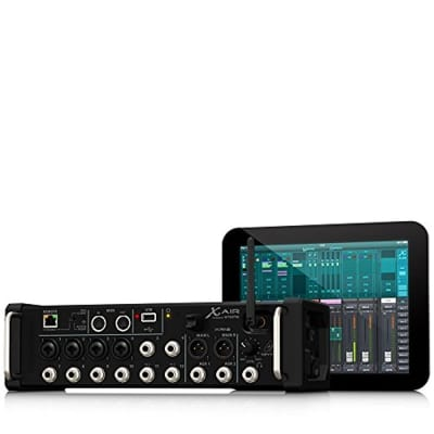 Behringer X Air XR12 12-Input Digital Mixer with 4 Programmable MIDAS Preamps for iPad/Android Tablets - Open Box / B-Stock