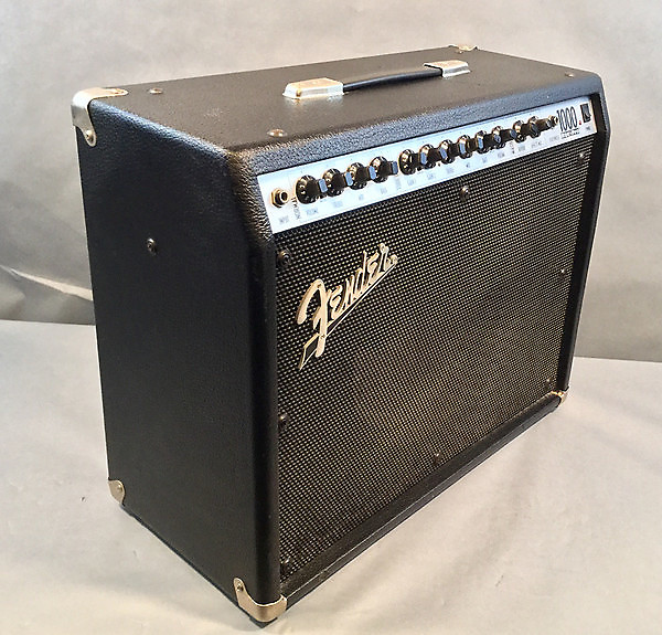 fender roc pro 1000 combo guitar amplifier used reverb. Black Bedroom Furniture Sets. Home Design Ideas