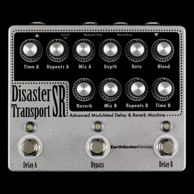Earthquaker Devices Disaster Transport SR Delay and Reverb Pedal