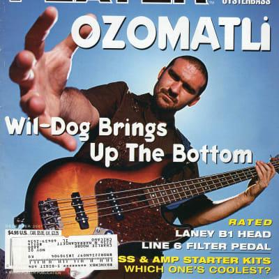 Bass Player 2001 Ozomatli Les Claypool Oysterhead Kittie Billy Sheehan Dave Holland Ira Dean Tesla