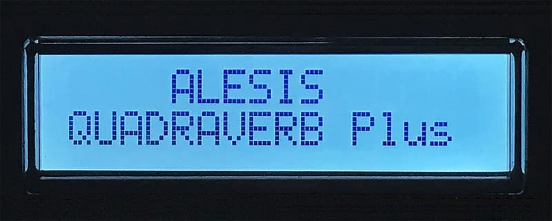 Alesis LCD Display - Quadraverb, Quad Plus, Quad GT, Data Disk, D4, & ADA  MP-2 Screen - Light Blue
