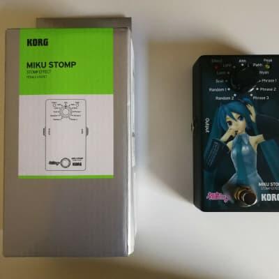 Korg Miku Stomp - AS NEW - Free Post for sale