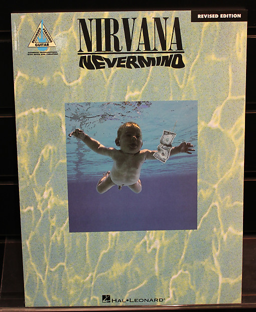 Nirvana: Nevermind Revised Edition Guitar Recorded Versions | Reverb