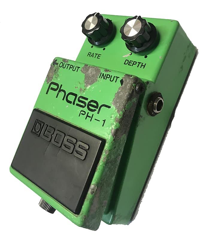 boss ph 1 phaser guitar effects pedal reverb. Black Bedroom Furniture Sets. Home Design Ideas