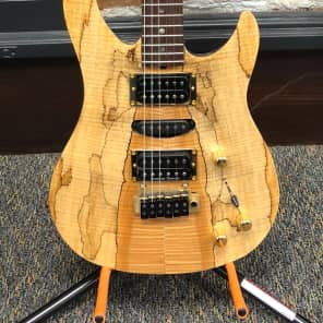 Brian Moore Custom Shop C90P 2003 Spalted Maple Top for sale