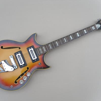 Argus Unknown Model Vintage Archtop Electric Guitar for sale