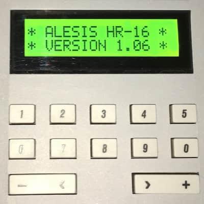 Alesis HR-16 HR-16B & MMT-8 LCD Display - Replacement Screen - GREEN