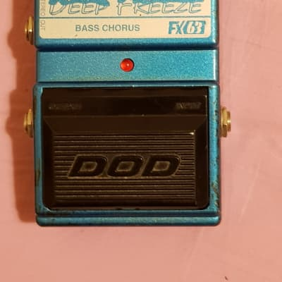 DOD FX63 DEEP FREEZE Bass Chorus V1 -  MN3007 BBD for sale