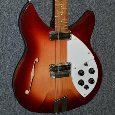 🔴 1991 Rickenbacker Rose Morris - Fireglo for sale