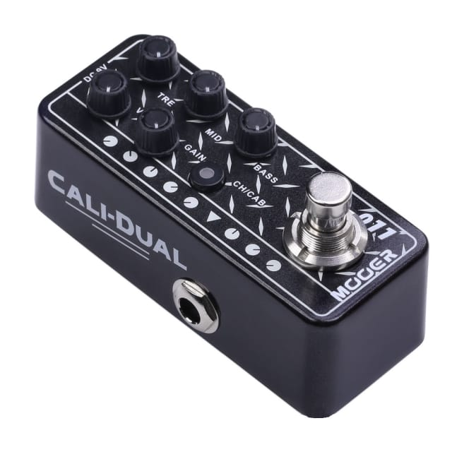 Mooer Micro Preamp 011 Cali Dual based on Mesa Boogie® Dual Rectifier NEW Release! image