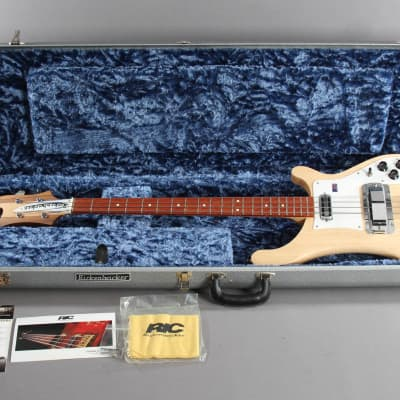 2009 Rickenbacker 4001C64S MG Satin Mapleglo Bass Guitar for sale