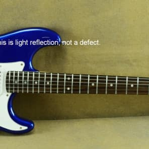 Giannini G-101 Electric Guitar, Metallic Blue Finish for sale